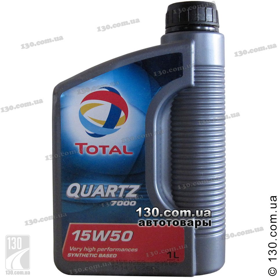 Total Quartz 7000 15w 50 Semi Synthetic Motor Oil 1 L For Cars