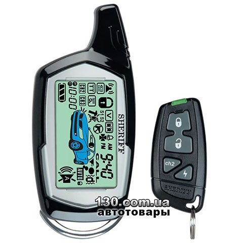 Car alarm Sheriff ZX-1090 CAN