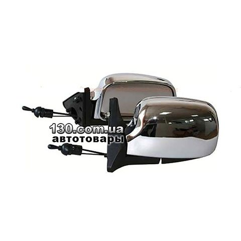 Side mirror Vitol ZB 3109 color chromium for LADA Samara 08,09,13-15