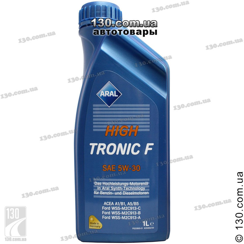 Aral Hightronic F Sae 5w 30 Buy Synthetic Motor Oil 1