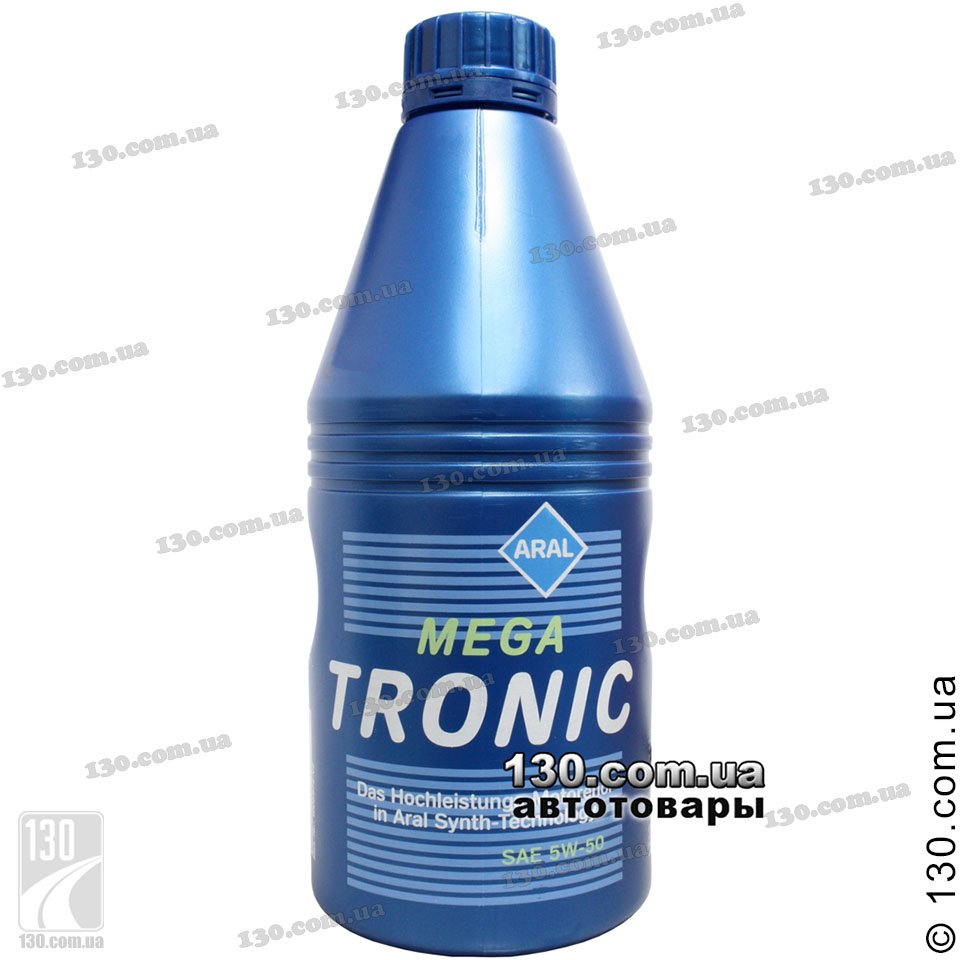 Aral Megatronic Sae 5w 50 Synthetic Motor Oil 1 L For Cars