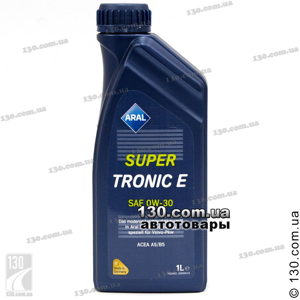 Aral Supertronic E Sae 0w 30 Synthetic Motor Oil 1 L