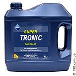 Synthetic motor oil Aral SuperTronic SAE 0W-40 — 4 L for cars