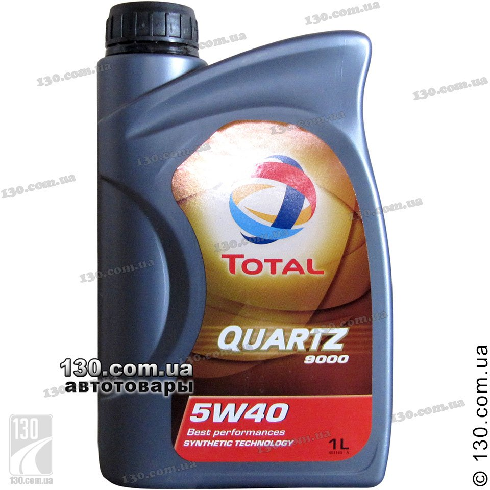 Total Quartz 9000 5w 40 Synthetic Motor Oil 1 L For Cars