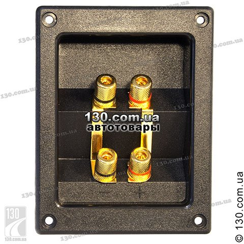 Terminal for subwoofer Mystery MTN-50 square, dual