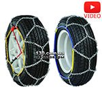 Tire chains Vitol KB360-10 (4WD 10) 16 mm