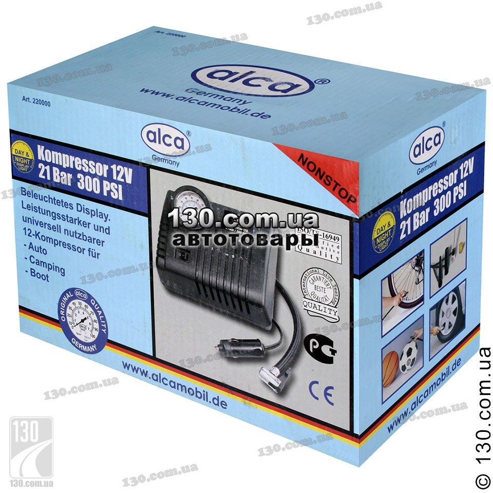 Alca Nonstop 220 000 Buy Tire Inflator With Pressure Gauge Kompressor