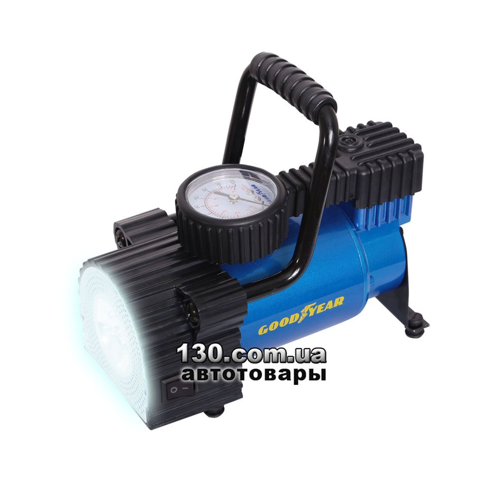 5d2d80cc4b0e Компрессор автомобильный (насос) Goodyear GY-30L LED c манометром и фонаре