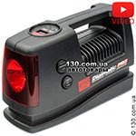 Tire inflator with auto-stop HEYNER Digimatic PRO 236 with digital pressure gauge and signal lamp