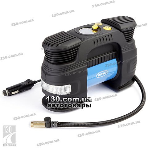 Tire inflator with auto-stop Ring RAC830