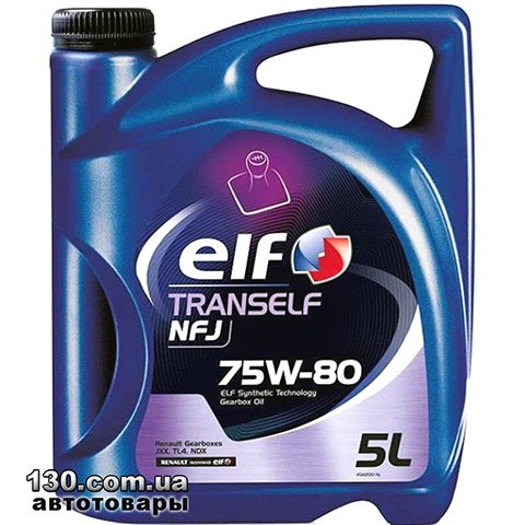 Transmission oil ELF Tranself NFJ 75W-80 — 5 l