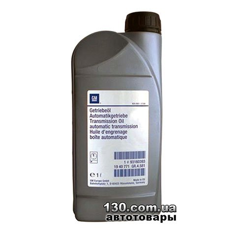 Transmission oil General Motors ATF-3309 — 1 l