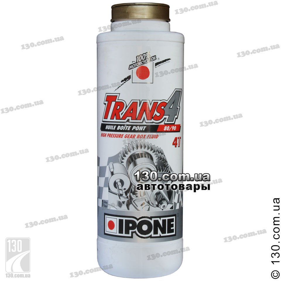 Transmission oil Ipone Trans 4 SAE 80/90 Gearbox — 1 L