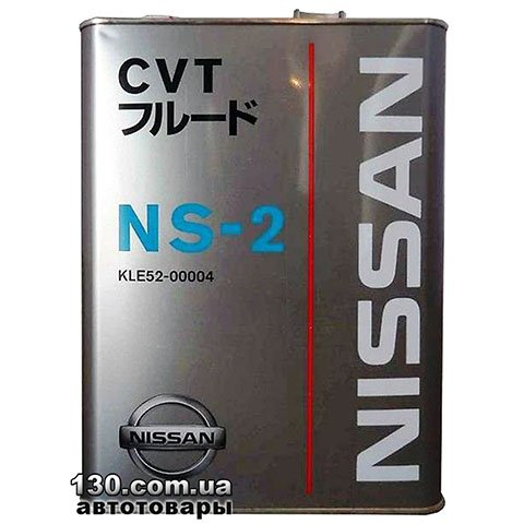 Transmission oil Nissan CVT Fluid NS-2 — 4 l