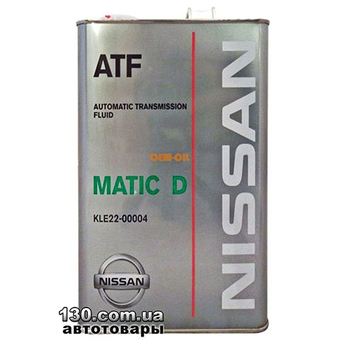 Transmission oil Nissan Matic Fluid - D — 4 l