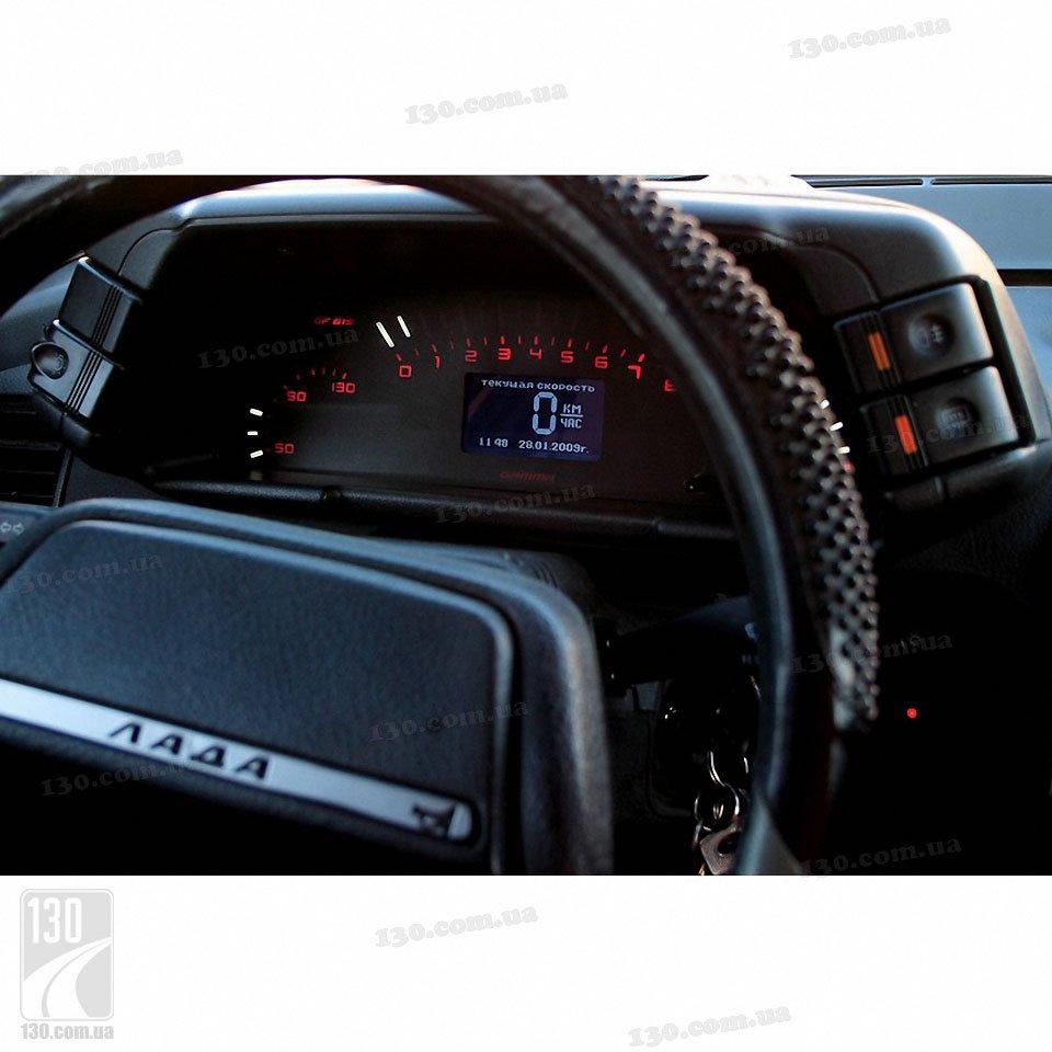 Фото №1 - приборная панель для ВАЗ 2110 с бортовым компьютером