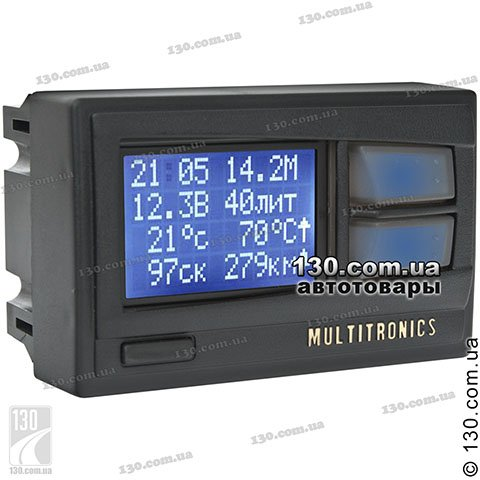 Trip computer Multitronics Comfort X10 backlight changeable for VAZ 2110