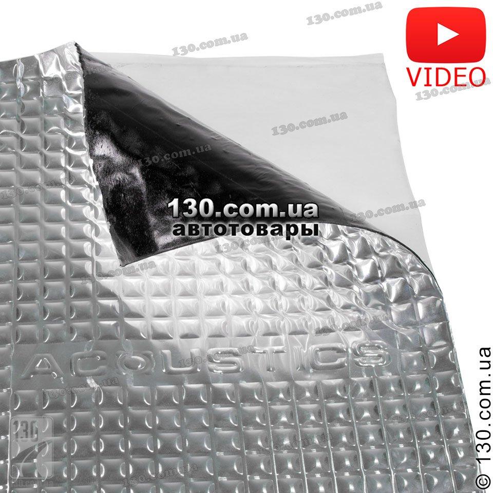acoustics Виброизоляция ACOUSTICS Alumat 1,6 (70 см x 50 см)